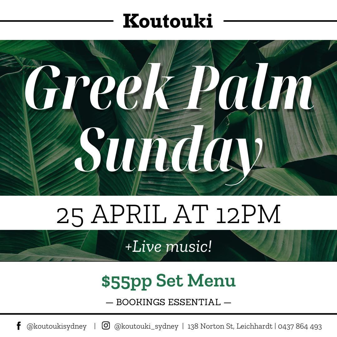 Koutouki - Green Palm Sunday