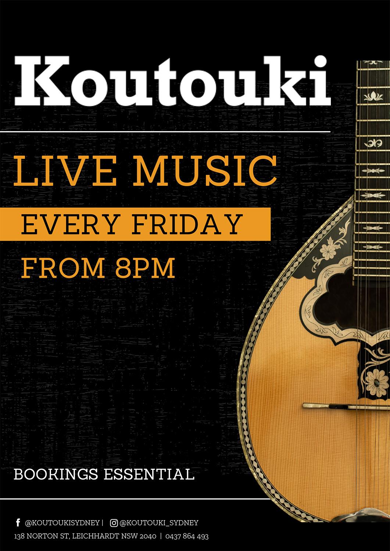 Koutouki Live Music