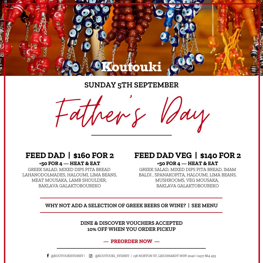 Koutouki Father's Day
